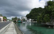 The capital of Palau, Koror.