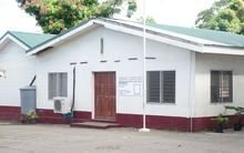 The Vanuatu Supreme Court building in Port Vila.