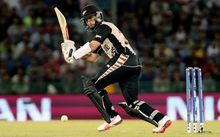 New Zealand captain Kane Williamson at the World Twenty20 tournament in India.