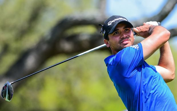 Jason Day tees off  during the WGC match play quarter-finals.