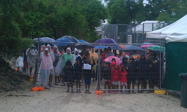 Asylum seekers in Nauru