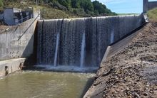 The privately-owned Waihi Dam has taken months to be fixed.