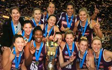 Queensland Firebirds 2015 trans-Tasman Champions.