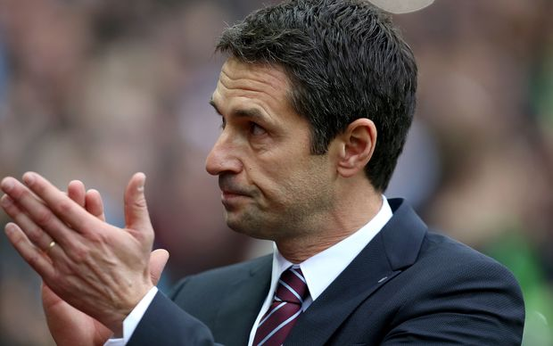 The now former Aston Villa manager Remi Garde.