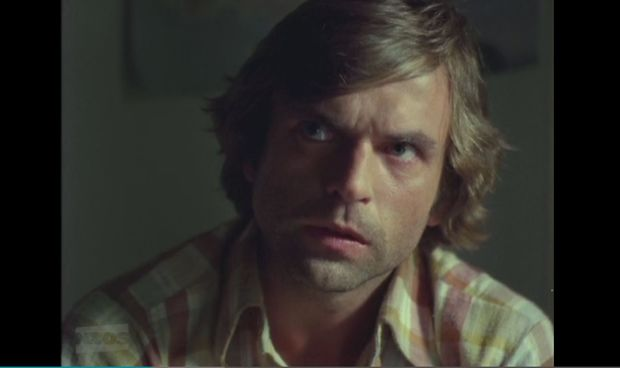 Sam Neill in his third feature film, Sleeping Dogs, released in 1977.