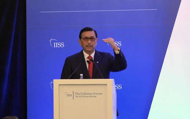 Indonesia's Co-ordinating Minister for Political, Legal and Security, Luhut Pandjaitan.