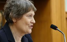 Helen Clark launches the Religious Diversity Centre at Parliament.