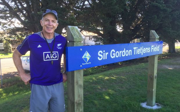 New Zealand rugby sevens coach Sir Gordon Tietjens.