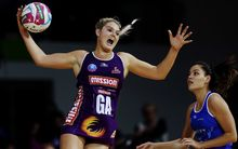Queensland Firebirds player Gretel Tippett.