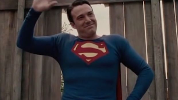 Ben Affleck as George Reeves as Superman in Hollywoodland