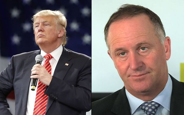 Donald Trump would miraculously find a way to make TPP seem 'great' to America if he was president, John Key says.