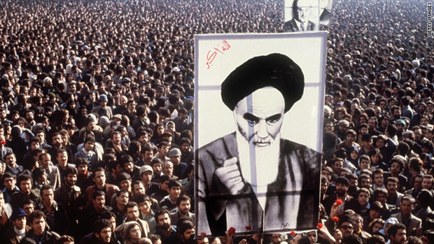 Iranian Revolution of 1978–79, also called Islamic Revolution, resulted in the toppling of the monarchy on April 1, 1979, and led to the establishment of an Islamic republic led by Ayatollah Ruhollah Khomeini