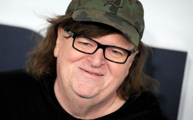 Documentary director Michael Moore