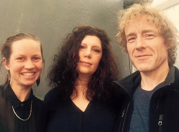 Kirsten Johnstone with Low - Mimi Parker and Alan Sparhawk 2016