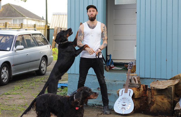 Will Wood and some dogs