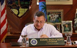 Guam's governor, Eddie Calvo.