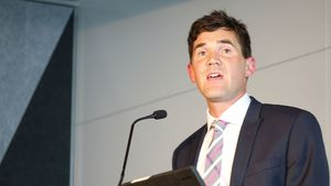 Justin Lester says he is committed to economic growth in Wellington.