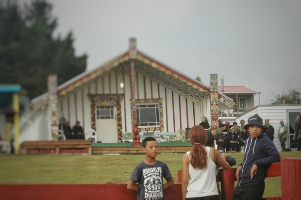 Maungapōhatu marae, in the heart of the Urewera.