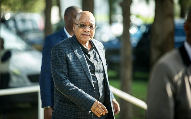 South African president Jacob Zuma in March 2016.