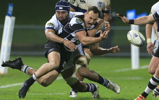 Israel Dagg suffered a dislocated shoulder playing for Hawkes Bay in this Ranfurly Shield match in September.