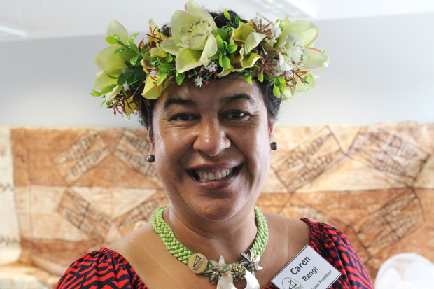 PACIFICA Inc national president Caren Rangi, March 2015