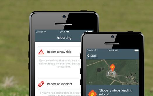 An online app has been created to help farmers stick to the rules of the new Health and Safety at Work Act.