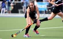 Black Sticks captain Sam Charlton.