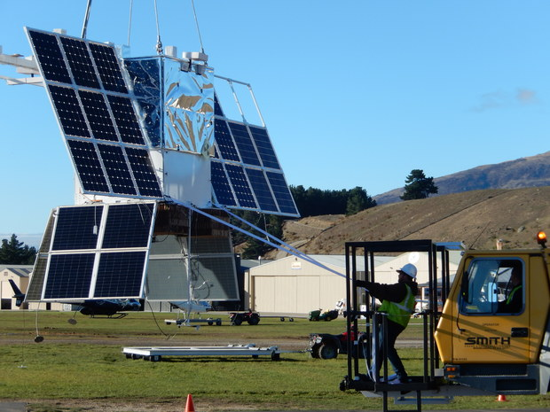 NASA is hoping to launch its super pressure balloon from Wanaka.