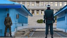 The border between North and South Korea remains under constant guard