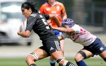 New Zealand captain Sara Goss against Japan.