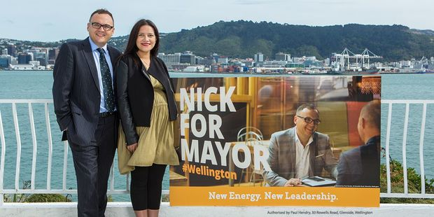 Current Porirua mayor Nick Leggett has launched a campaign to run for mayor in Wellington.