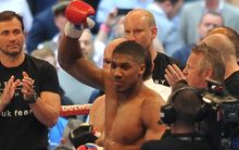 Anthony Joshua, 2014.