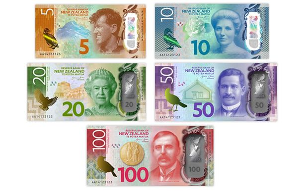 New Zealand's Reserve Bank is changing banknotes.