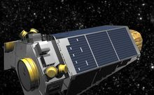 The Kepler spacecraft is designed to detect distant planets.