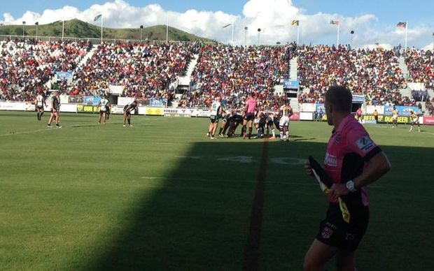 The PNG Hunters beat top of the table Townsville at the NFS in Port Moresby.
