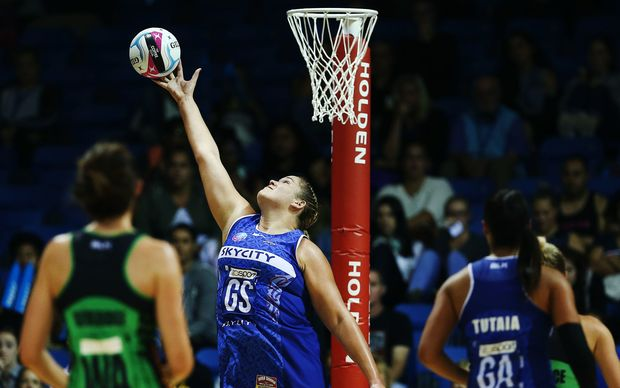 Megan Craig made her trans-Tasman competition debut against the West Coast Fever.