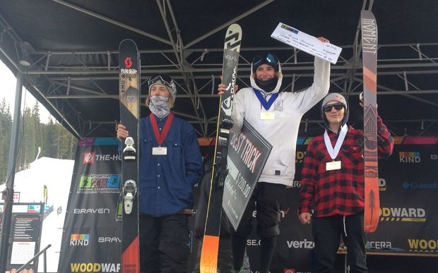 NZ freeskier Finn Bilous wins at US Nationals 2016.
