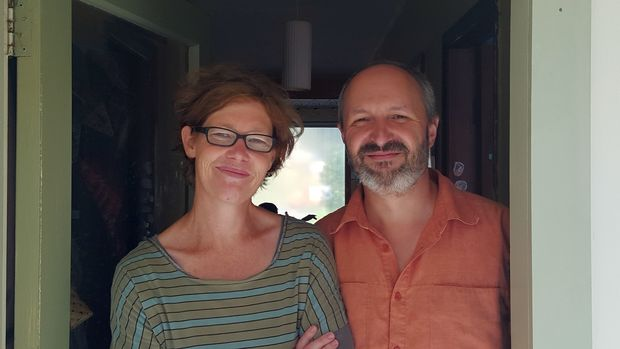 "Wellington parents Justine Fletcher and Giovanni Tiso. ""There is a massive equity gap."""