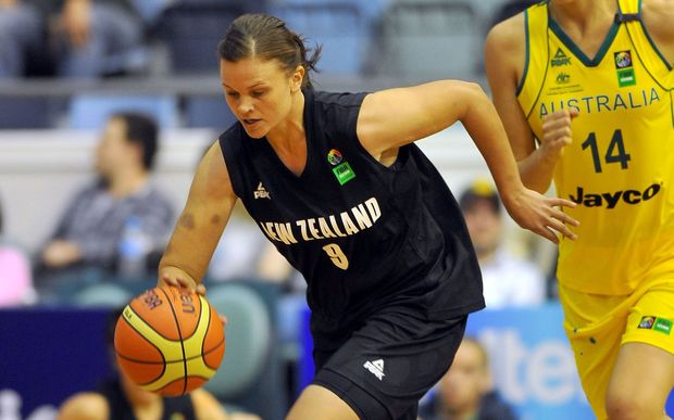 Suzie Bates gave up her international basketball career to concentrate on cricket.