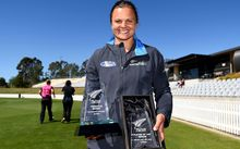 White Ferns captain Suzie Bates