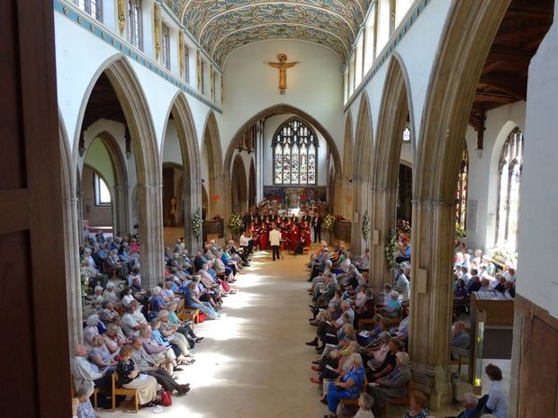The Cathedral of the  Blessed Sacrament (CBS) Choir at Chelmsford Cathedral