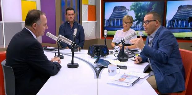 John Key on The Paul Henry Show answering questions about his money.