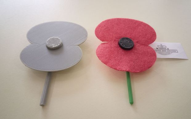 3D poppies are being offered this year.