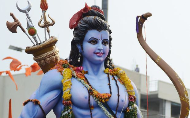 Lord Rama revered by Hindus