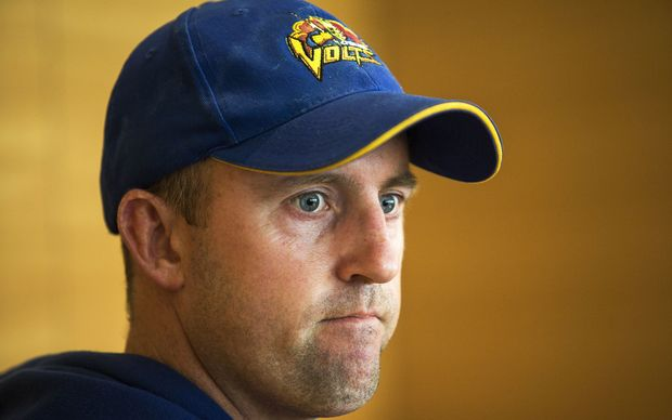 Otago Volts coach Nathan King.