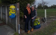 Brent and Shirley Cairns' Kaiapoi home is now surrounded by bare land, after almost all of their neighbours accepted government buy-out.