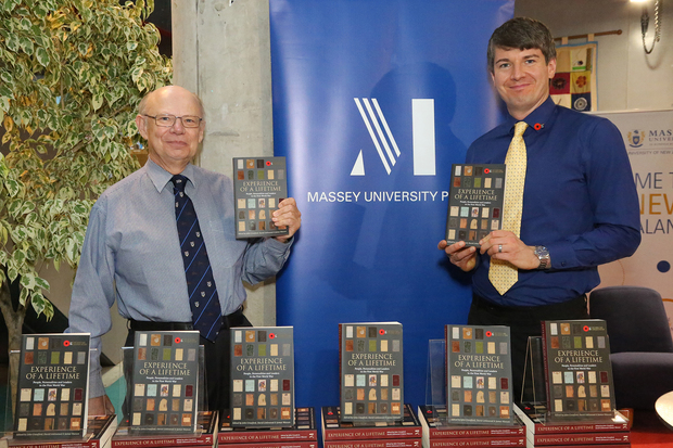 James Watson & David Littlewood (right), editors of 'Experience of a Lifetime'
