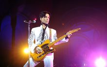 Prince performs a concert in 2009.