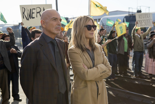 Billy Bob Thornton and Sandra Bullock fight for Bolivia's political soul in David Gordon Green's Our Brand Is Crisis
