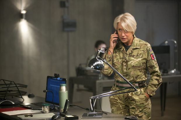 Helen Mirren makes yet another phone call to Whitehall.